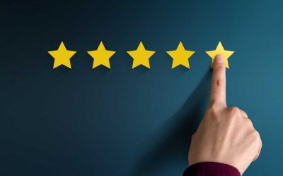 How high-ranking local businesses get more Google 5-star reviews